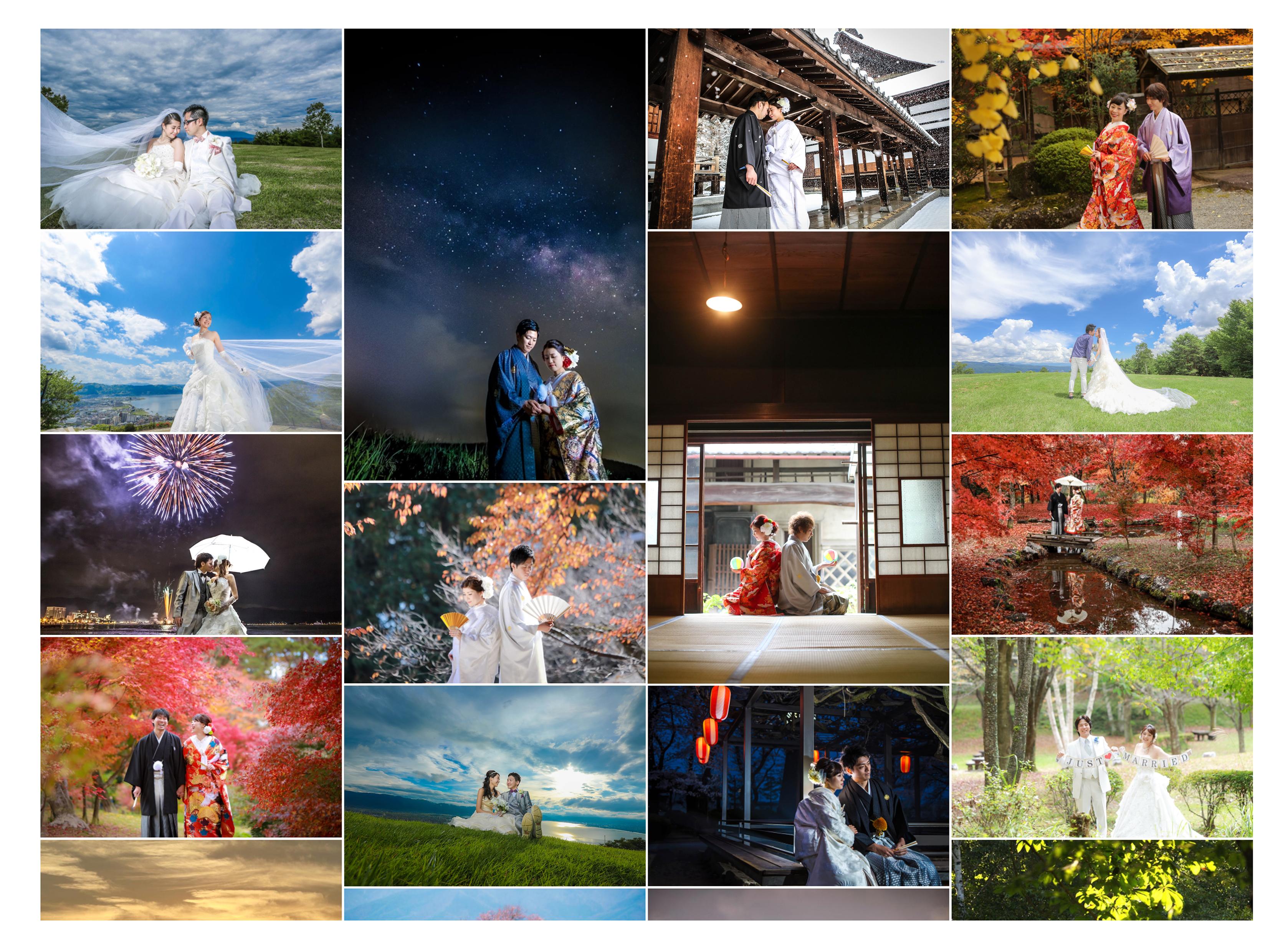ブライダルフォトの山田写真館