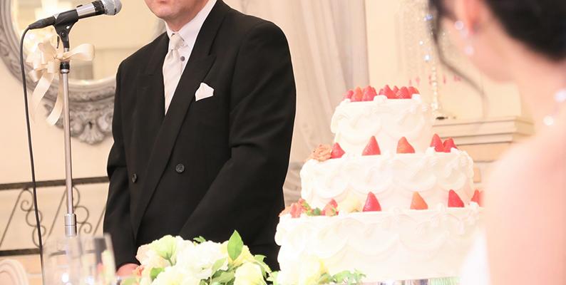 結婚式の主賓挨拶