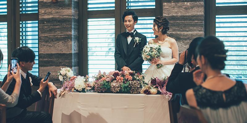 結婚式のお色直し中座