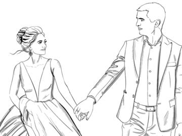 手書き風の結婚式ムービーを自作したいカップルのためのアイデア集!パラパラ漫画やイラストで温もりある映像を作ろう!